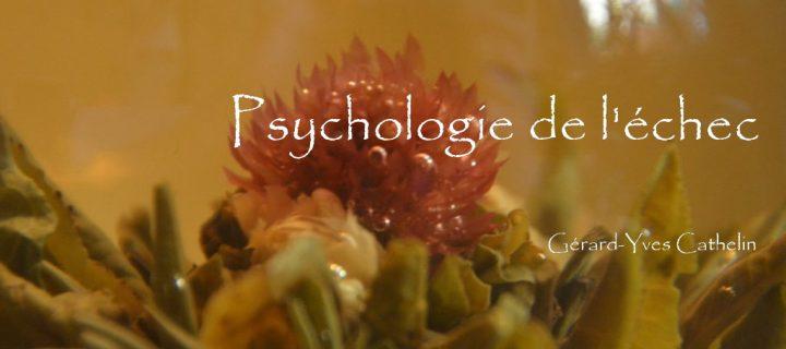 Psychologie de l'échec